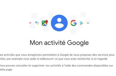 Comment effacer son historique sur Google